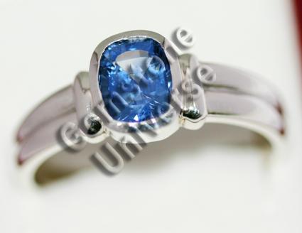 Kashmir Colored Blue Sapphire