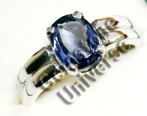 Ceylon Unheated BlueSapphire of 2.87 cts. Gemstoneuniverse.com