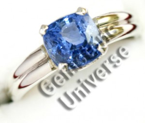 Unheated BlueSapphire3.00ct Ring. Gemstoneuniverse.com2885b