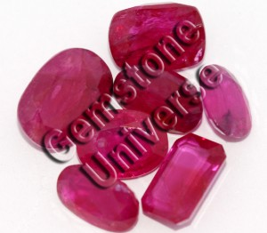 Unheated Tajikistan Ruby Lot acquired by Gemstoeuniverse.com