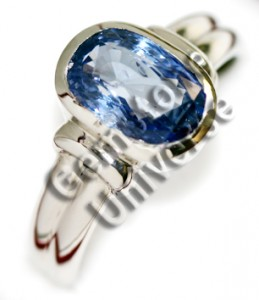 Natural Blue Sapphire of 4.70 cts Gemstoneuniverse.com 2931b
