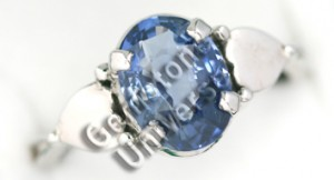 Natural Unheated Ceylon Blue Sapphire of 3.66 cts Gemstoneuniverse.com GU0210366BS Collection No. 2936a