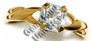Natural Unheated Ceylon White Sapphire of 2.08 cts Gemstoneuniverse.com GU0210208WS Collection No. 2965d