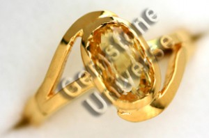 Natural Unheated Ceylon Yellow Sapphire of 2.07 cts Gemstoneuniverse.com GU1109207Y Collection No.3003b