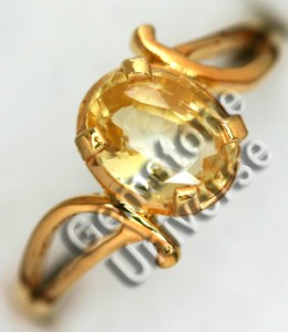 Natural Unheated Ceylon Yellow Sapphire of 2.56 cts Gemstoneuniverse.com GU0210256YS Collection No. 2933d