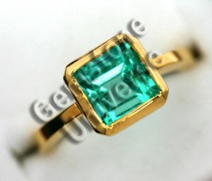 Natural Untreated Columbian Emerald of 2.44 cts Gemstoneuniverse.com GU1109244E Collection No. 2956a