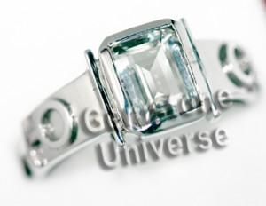 Natural White Sapphire of 2.96 cts Gemstoneuniverse.com 2911b