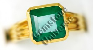 Natural Brazilian Emerald of 3.52 cts Gemstoneuniverse.com Local Inventory Collection No. 3030b
