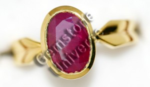 Natural Unheated Tajik Ruby of 3.10 cts Gemstoneuniverse.com GU0210310RU Collection No. 2954b
