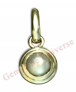 Natural Pearl Nacre of 2.10 cts Gemstoneuniverse.com