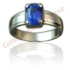 Gemstoneuniverse.com ,Striking Eye clean and super lustrous unheated Ceylon Blue Sapphire-The most powerful gemstone of Saturn. For the uninitiated this the closest to the famed Kashmir color.