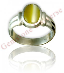 Majestic and full bodied Cats' Eye Chrysoberyl Ring talisman- Cat's Eye the favourite Gemstone of risk takers, adventurers, explorers and Gamblers, basically a Gem from whom-Normal is Boring! Gemstoneuniverse.com