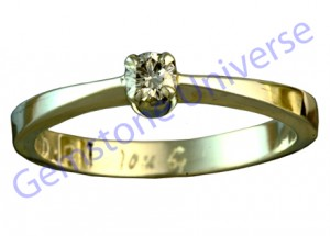 Venus Trinity Ring-Diamond for Venus-Gemstineuniverse.com