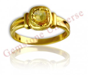 Natural Unheated Ceylon Yellow Saphire of 1.94 carats Gemstoneuniverse.com
