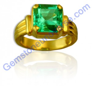 Natural Untreated Columbian Emerald of 2.63 carats Gemstoneuniverse.com GU020810263EM