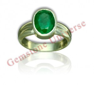 Natural Untreated Zambian Emerald of 2.72 Carats Gemstoneuniverse.com