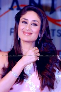 Kareena Kapoor wearing Yellow Sapphire and Natural Pearl-Gemstoneuniverse.com