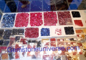 Mind boggling array of Rubies, Sapphires at our showcase at the 46th Bangkok Gem and Jewelry Fair from September 7th, 2010 to September 2011! Gemstoneuniverse.com