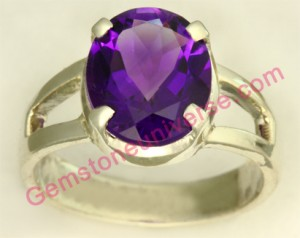 Natural Untreated African Amethyst of 3 carats Gemstoneuniverse.com