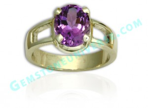 Natural Untreated African Amethyst of 3.00 carats Gemstoneuniverse.com