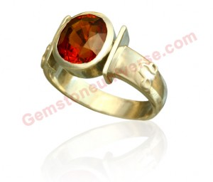 Natural Untreated Ceylonese Hessonite of 5.01 carats Gemstoneuniverse.com