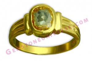 Natural Untreated Ceylonese Yellow sapphire of 3.53 carats Gemstoneuniverse.com