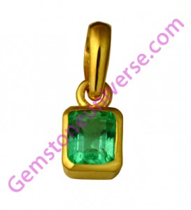 Natural Untreated Colombian Emerald of 0.80 carats Gemstoneuniverse.com