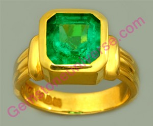 Natural Untreated Colombian Emerald of 2.02 carats Gemstoneuniverse.com
