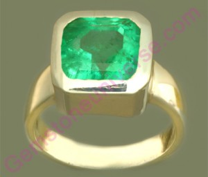 Natural Untreated Colombian Emerald of 2.54 carats Gemstoneuniverse.com