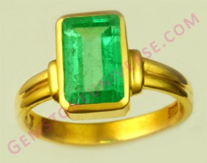 Natural Untreated Colombian Emerald of 3.12 carats Gemstoneuniverse.com