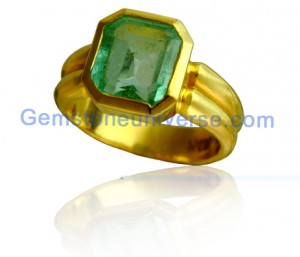Natural Untreated Colombian Emerald of 3.45 carats Gemstoneuniverse.com