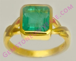 Natural Untreated Zambian Emerald of 3.10 carats Gemstoneuniverse.com
