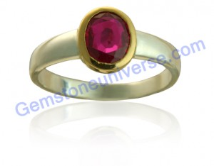 Natural untreated Burma ruby of 1.07 carats. Gemstoneuniverse.com