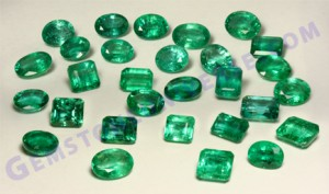 October 2010 Zambian Emerald Lot-Gemstoneuniverse.com