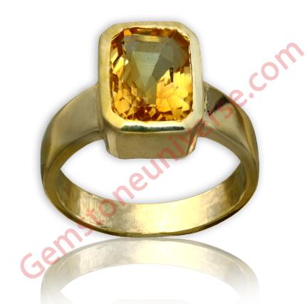 Golden Topaz 3.55 carats Gemstoneuniverse.com