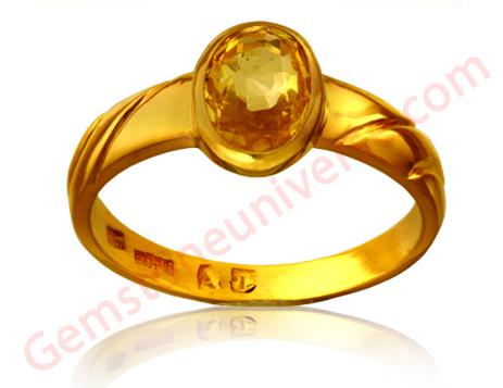 Natural Ceylon Yellow Sapphire 1.71 carats Gemstoneuinverse.com