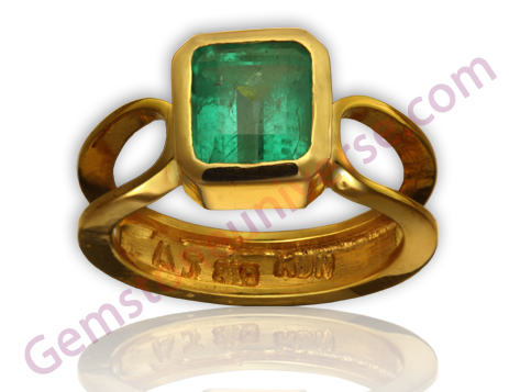 Natural Colombian Emerald 2.01 carats Gemstonuniverse.com
