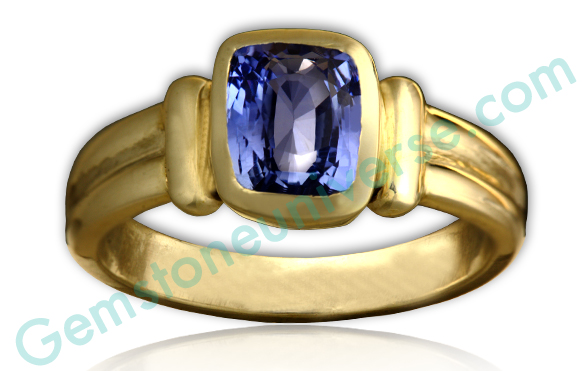 Natural Untreated Blue Sapphire of 3.01 Carats Gemstoneuniverse.com