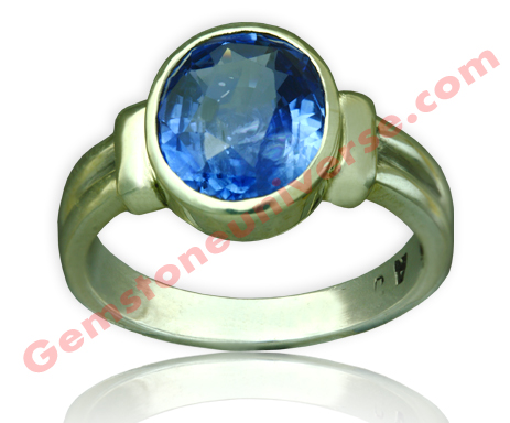 Natural Untreated Blue Sapphire of 7.02 Carats Gemstoneuniverse.com
