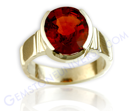 Natural Untreated Ceylonese Hessonite of 5.06 carats Gemstoneuniverse.com