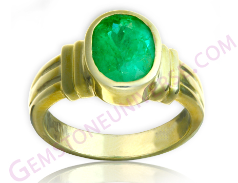 Natural Untreated Colombian Emerald of 1.55 carats Gemstoneuniverse.com