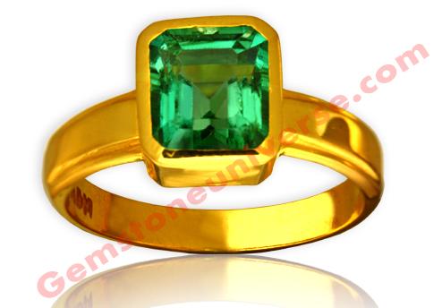Natural Zambia Emerald 2.90carats Gemstoneuniverse.com