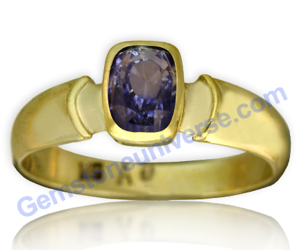 Natural Untreated Blue Sapphire of 2.66 Carats Gemstoneuniverse.com