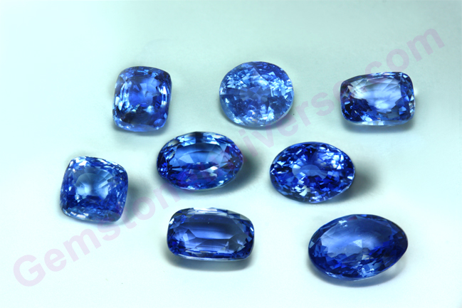 Unheated Blue Sapphire lot-Orion Rough-Gemstoneuniverse.com