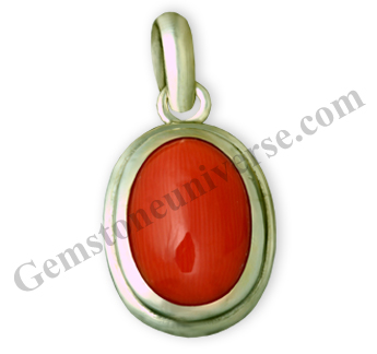 Natural Organic Untreated Red Coral of 7.35 carats Gemstoneuniverse.com