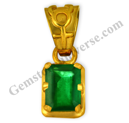 Natural Unenhanced Brazil Emerald 3.05 carats Gemstoneuniverse.com