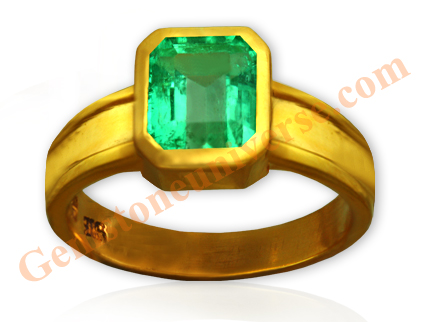 Natural Unenhanced Colombia Emerald 2.22 carats Gemstoneuniverse.com