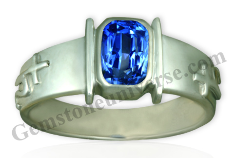 Natural Unheated Blue Sapphire of 2.00 Carats Gemstoneuniverse.com