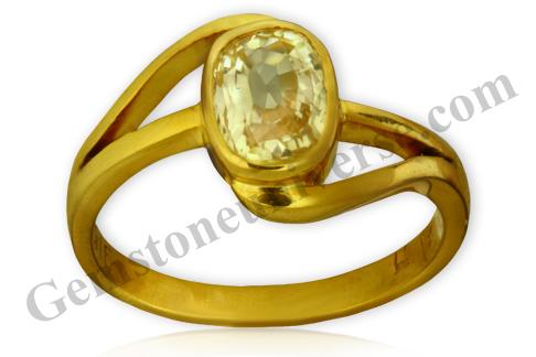 Natural Yellow Sapphire 2.09 carats Gemstoneuniverse.com