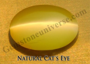 Natural Cat's Eye-The Gem of Ketu